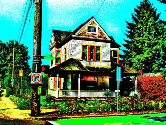 Clinton Street. Portland.