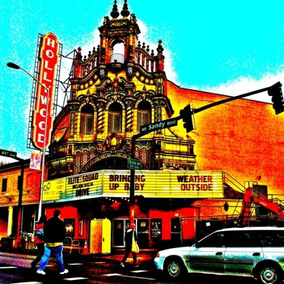 Hollywood. Sandy Blvd.